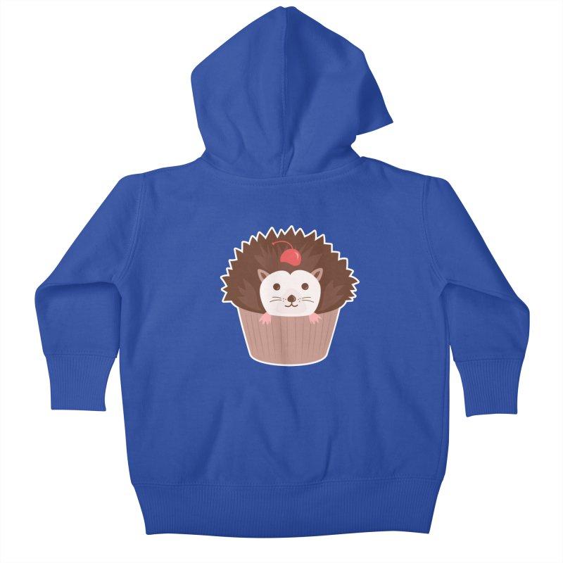 Hedgecake Kids Baby Zip-Up Hoody by Calobee Doodles