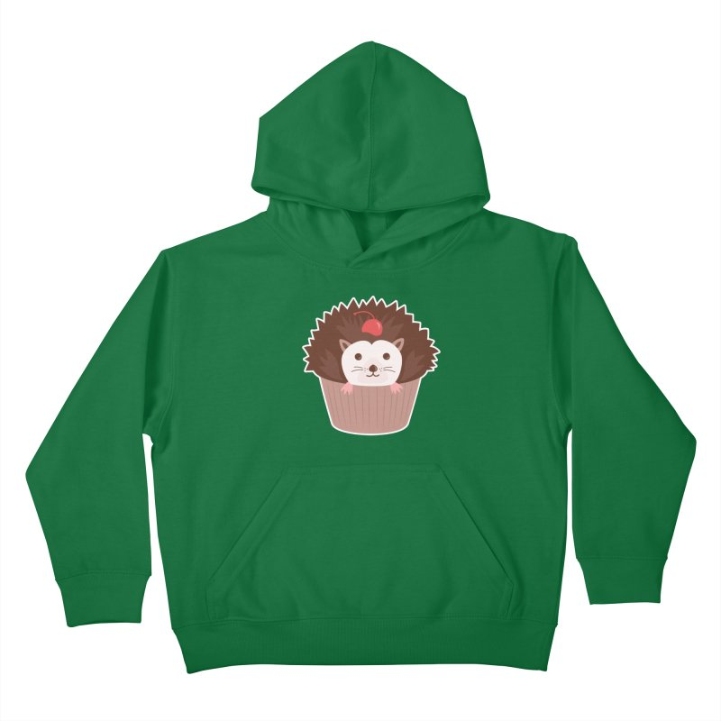 Hedgecake Kids Pullover Hoody by Calobee Doodles