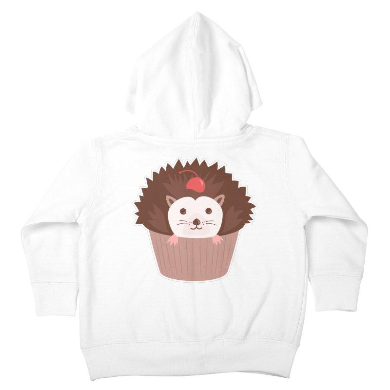 Hedgecake Kids Toddler Zip-Up Hoody by Calobee Doodles
