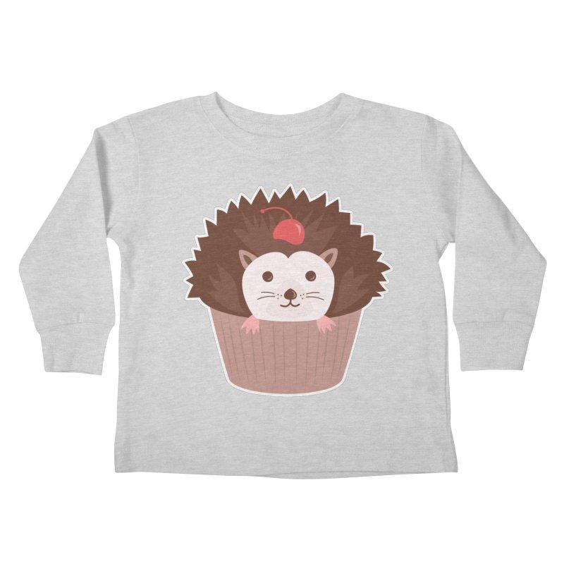 Hedgecake Kids Toddler Longsleeve T-Shirt by Calobee Doodles