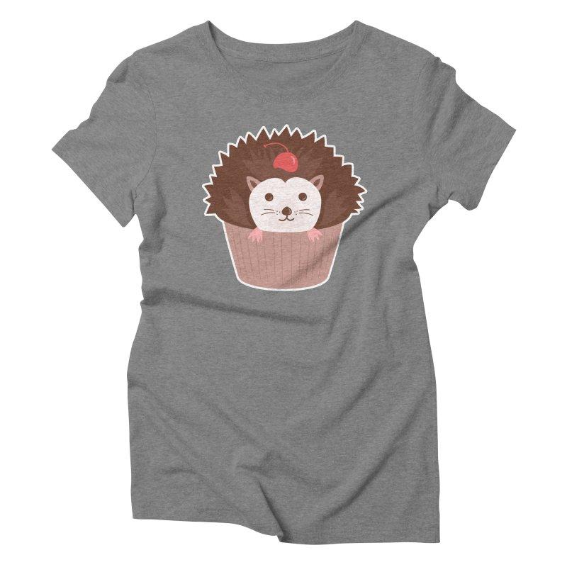 Hedgecake Women's Triblend T-Shirt by Calobee Doodles