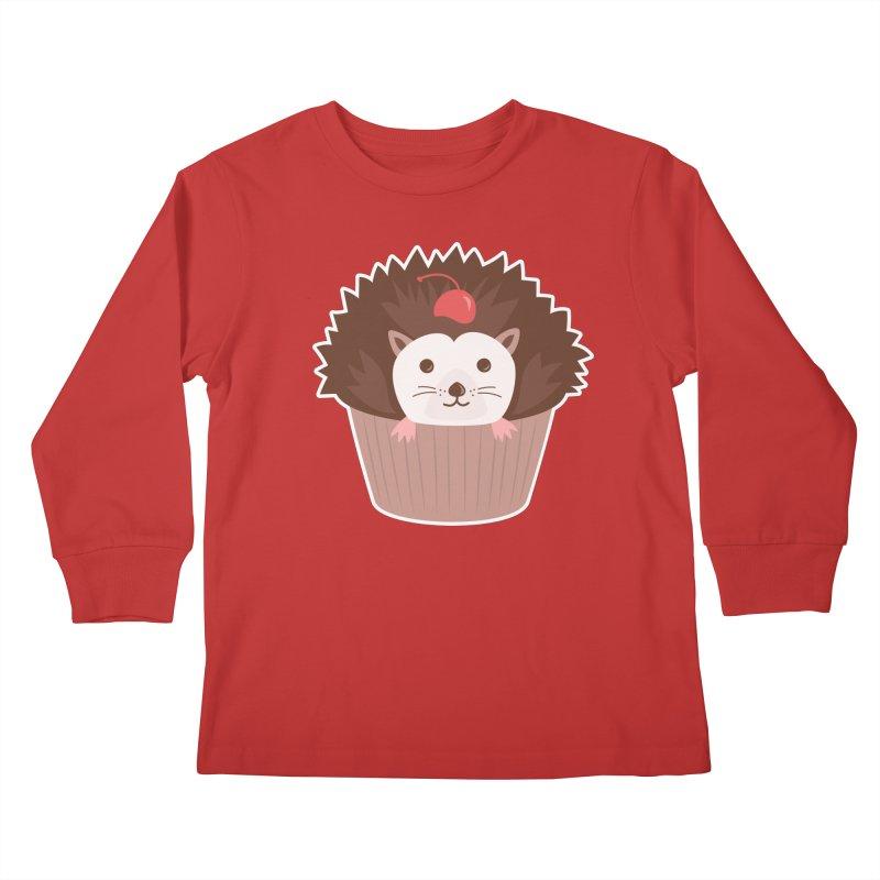 Hedgecake Kids Longsleeve T-Shirt by Calobee Doodles