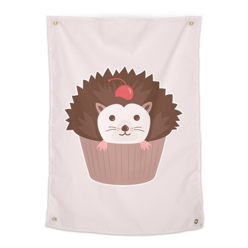 Hedgecake Home Tapestry by Calobee Doodles