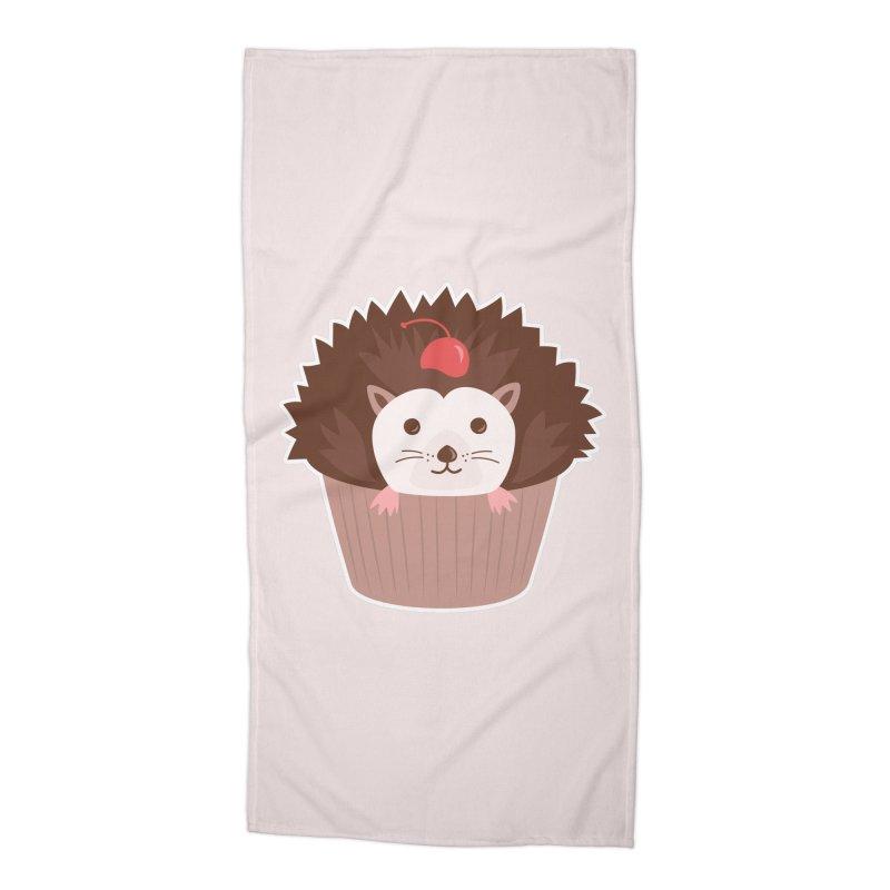 Hedgecake Accessories Beach Towel by Calobee Doodles