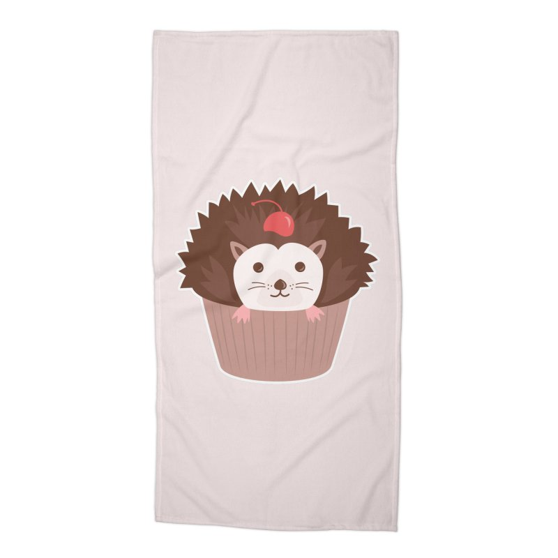 Hedgecake Accessories Beach Towel by Calobee Doodles