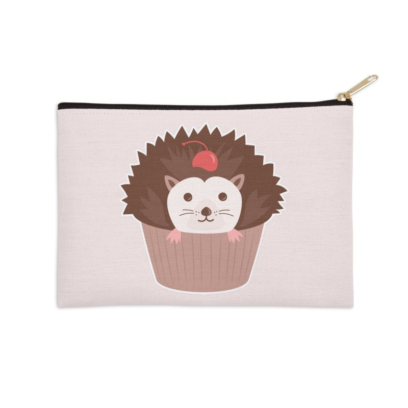 Hedgecake Accessories Zip Pouch by Calobee Doodles
