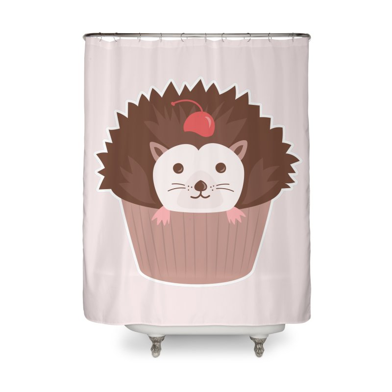 Hedgecake Home Shower Curtain by Calobee Doodles