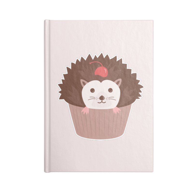 Hedgecake Accessories Notebook by Calobee Doodles