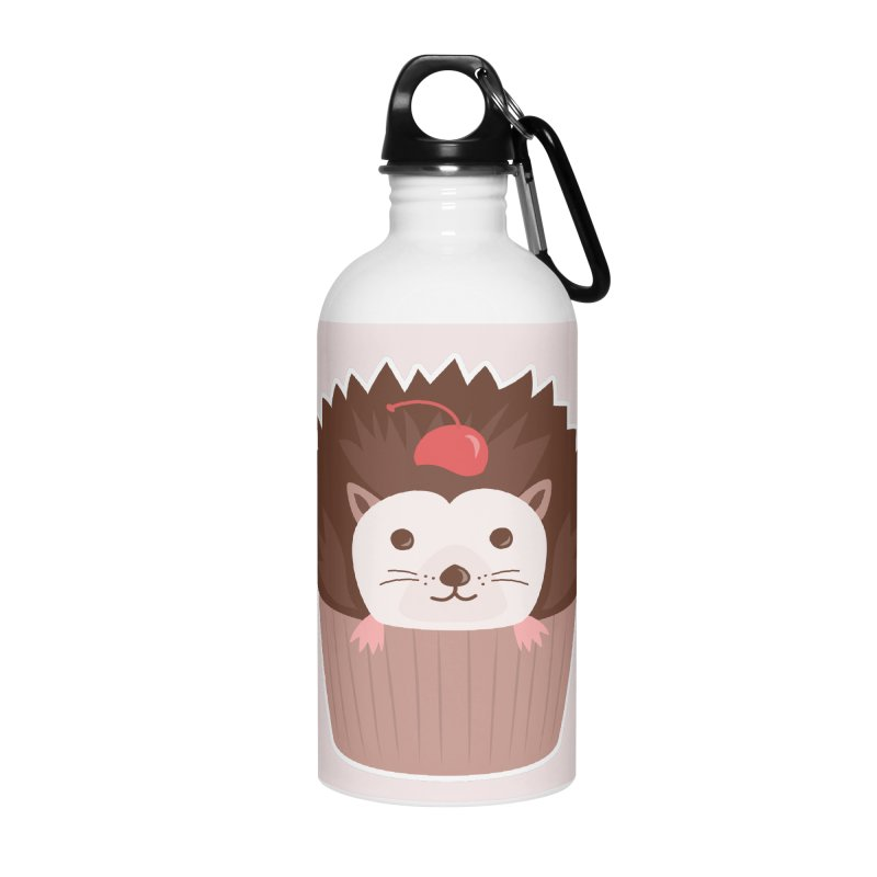 Hedgecake Accessories Water Bottle by Calobee Doodles