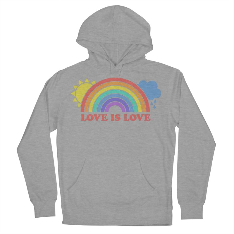 Love is Love Women's French Terry Pullover Hoody by Calobee Doodles