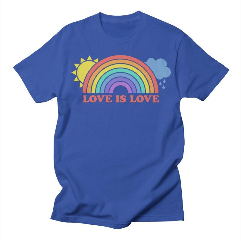 Love is Love Men's Regular T-Shirt by Calobee Doodles