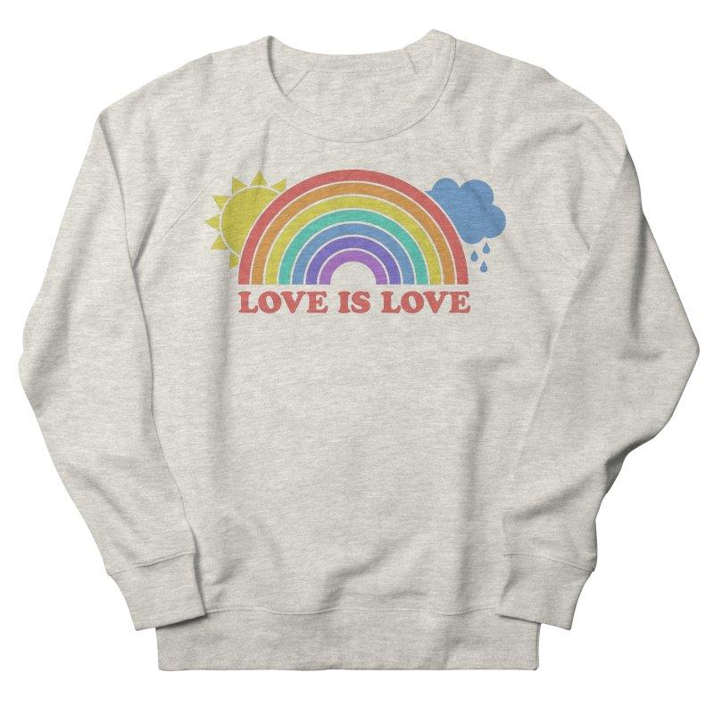 Love is Love Women's French Terry Sweatshirt by Calobee Doodles