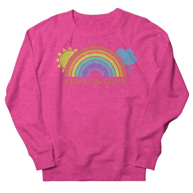 Love is Love Men's French Terry Sweatshirt by Calobee Doodles