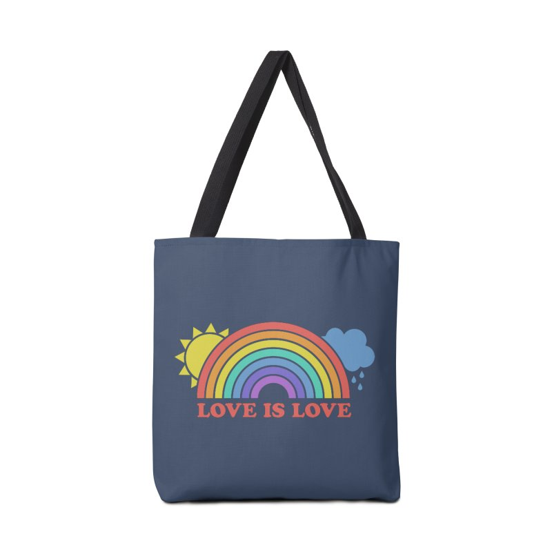 Love is Love Accessories Bag by Calobee Doodles