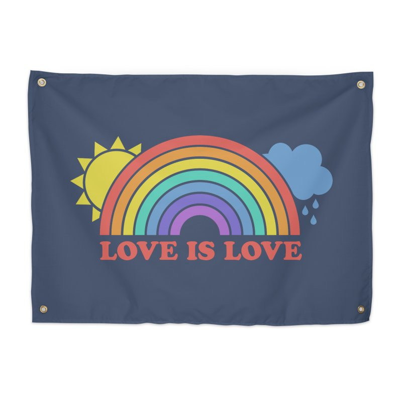 Love is Love Home Tapestry by Calobee Doodles