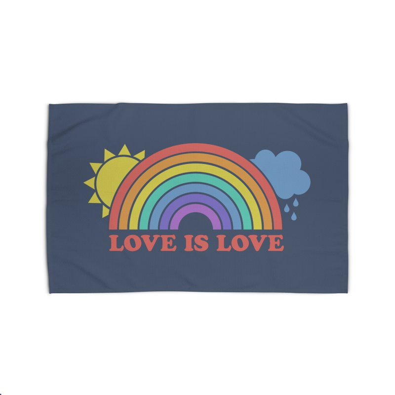 Love is Love Home Rug by Calobee Doodles