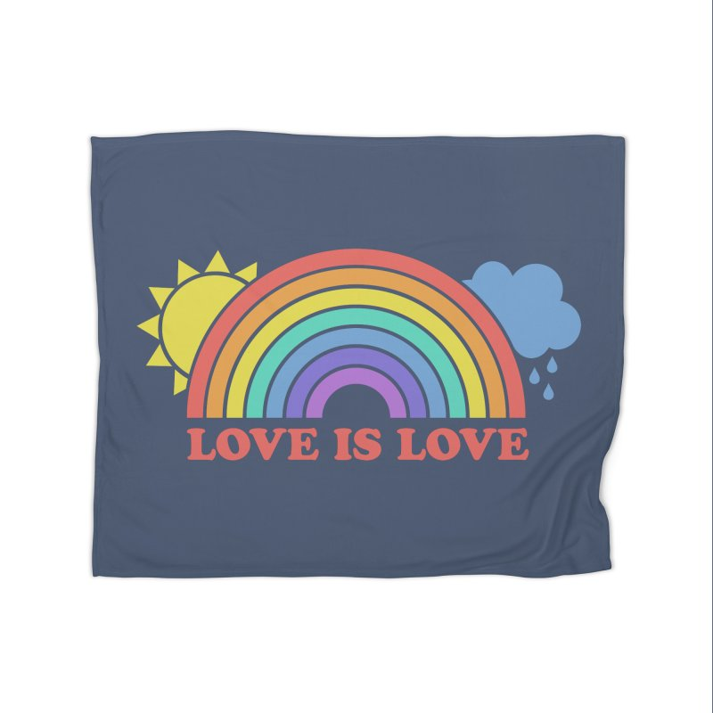Love is Love Home Blanket by Calobee Doodles
