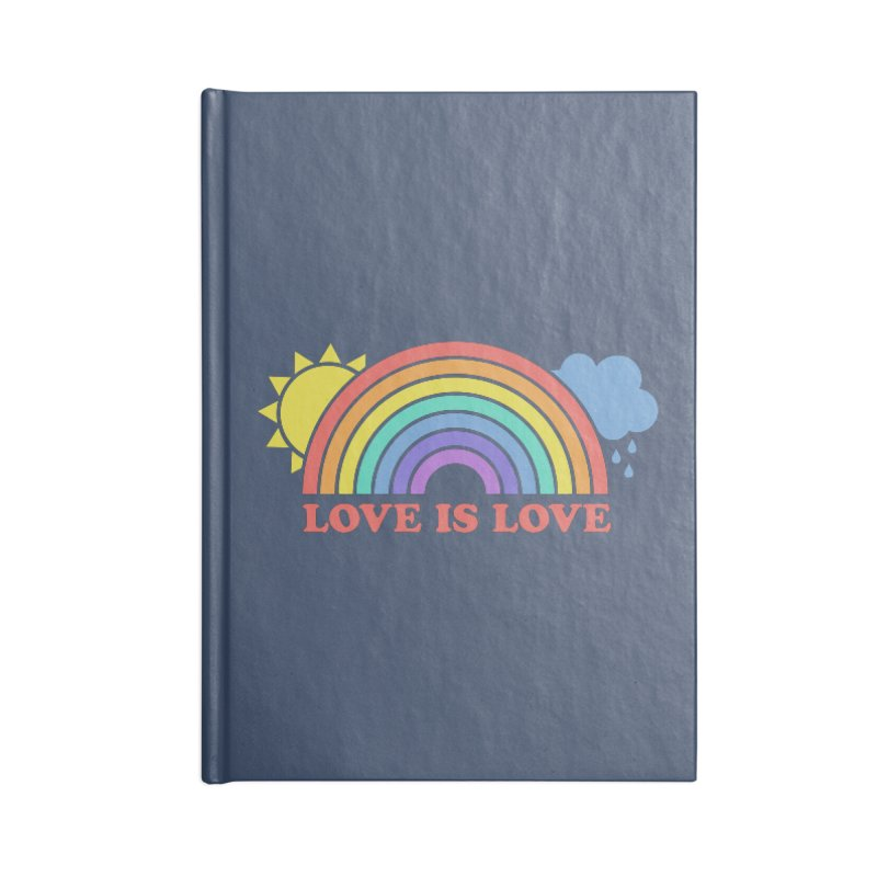 Love is Love Accessories Notebook by Calobee Doodles