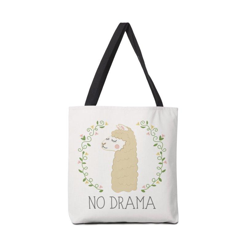 No Drama Llama Accessories Bag by Calobee Doodles