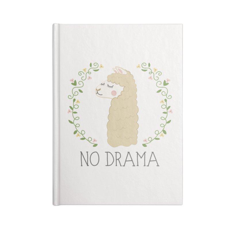 No Drama Llama Accessories Notebook by Calobee Doodles