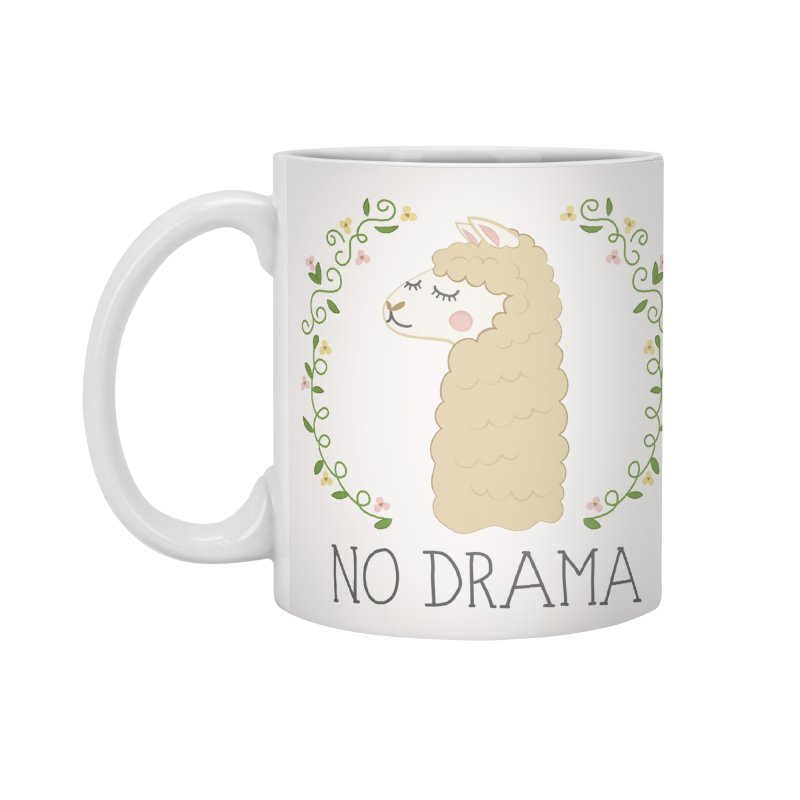 No Drama Llama Accessories Mug by Calobee Doodles