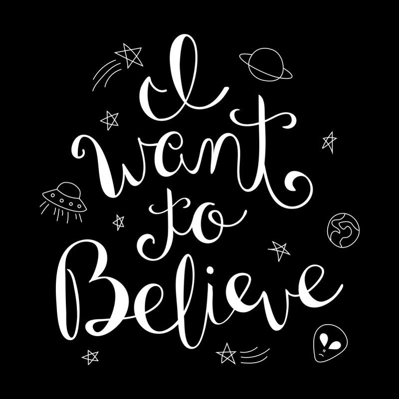The X-Files - I want to believe by Calobee Doodles