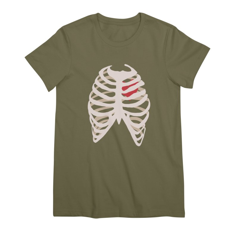 Caged heart Women's Premium T-Shirt by Hello Siyi