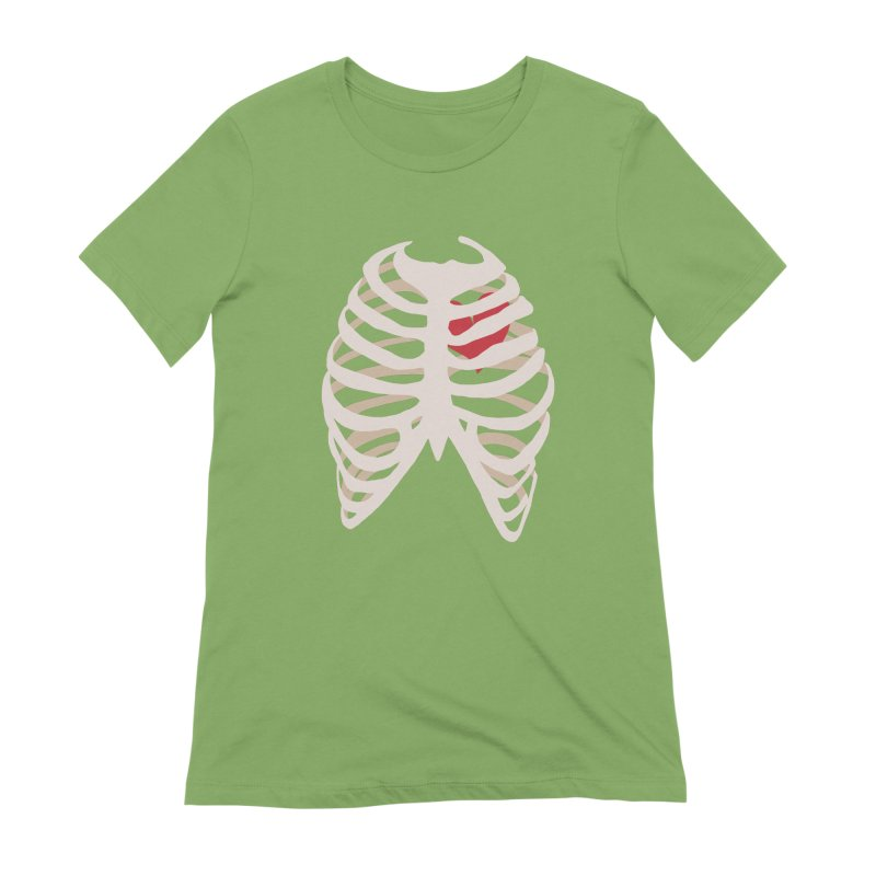 Caged heart Women's Extra Soft T-Shirt by Hello Siyi