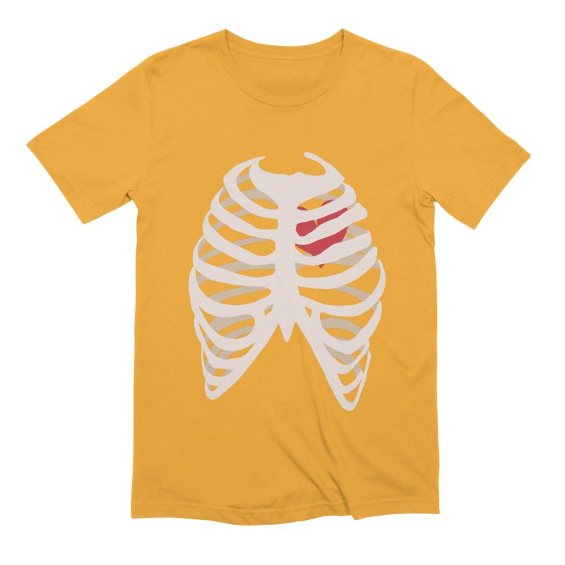Caged heart Men's Extra Soft T-Shirt by Hello Siyi