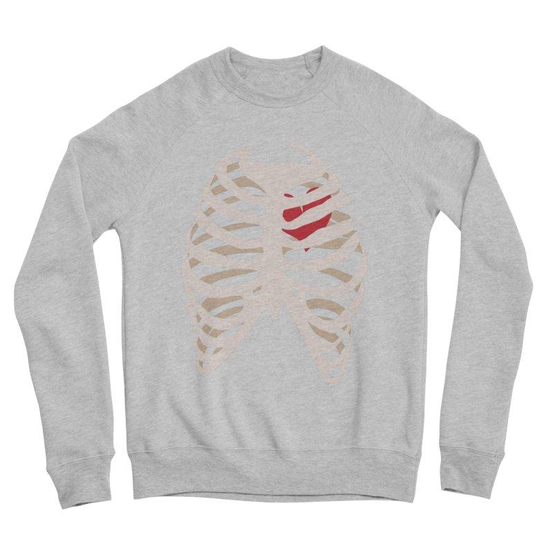Caged heart Men's Sponge Fleece Sweatshirt by Hello Siyi