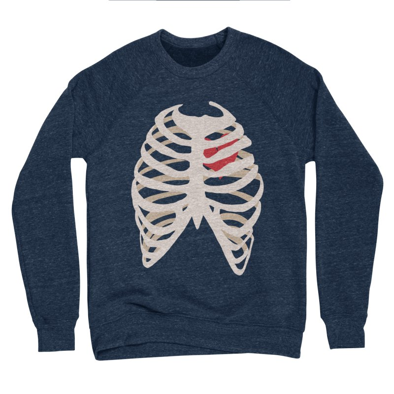 Caged heart Women's Sponge Fleece Sweatshirt by Hello Siyi