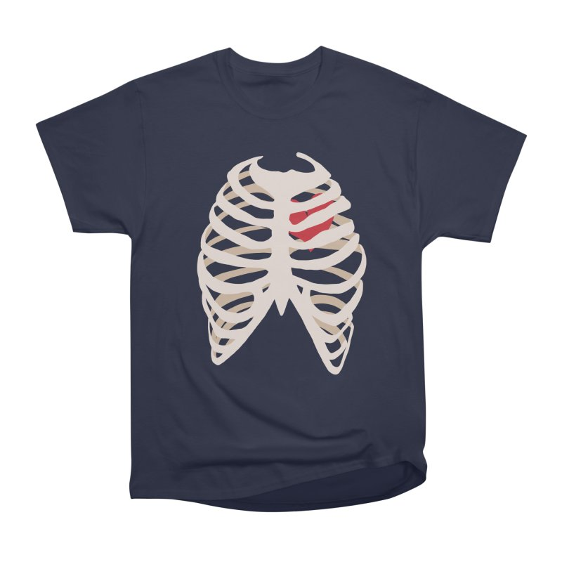 Caged heart Men's Heavyweight T-Shirt by Hello Siyi