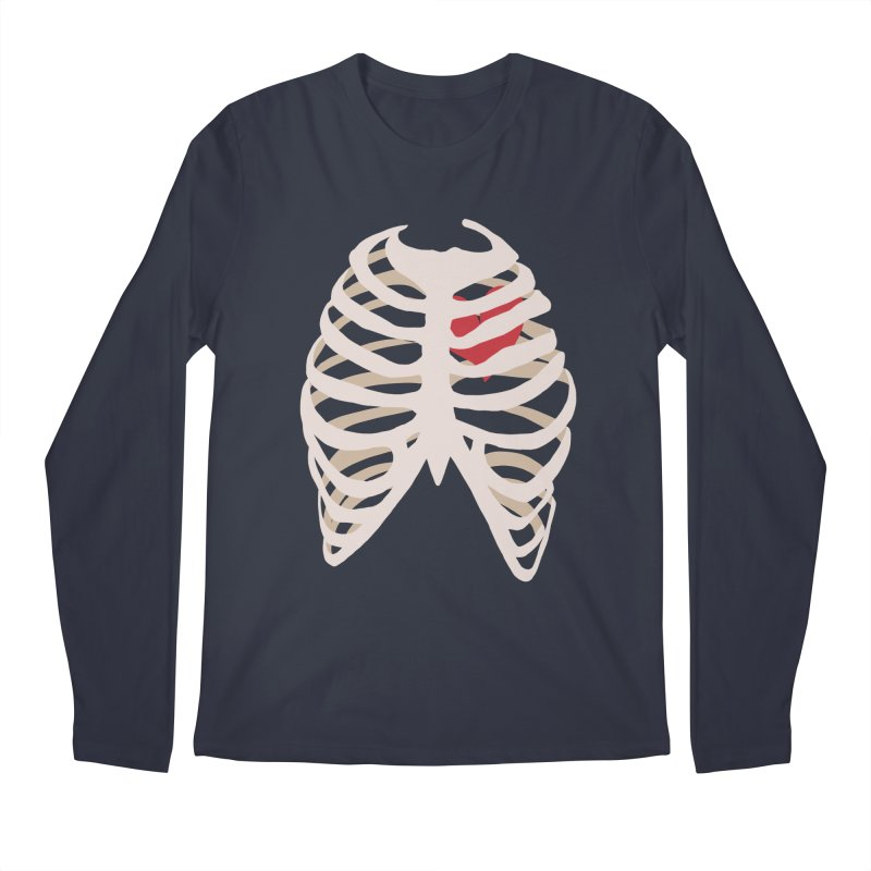 Caged heart Men's Regular Longsleeve T-Shirt by Hello Siyi