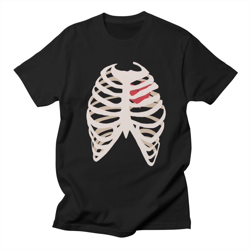 Caged heart Men's Regular T-Shirt by Hello Siyi