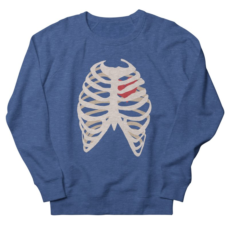 Caged heart Women's French Terry Sweatshirt by Hello Siyi