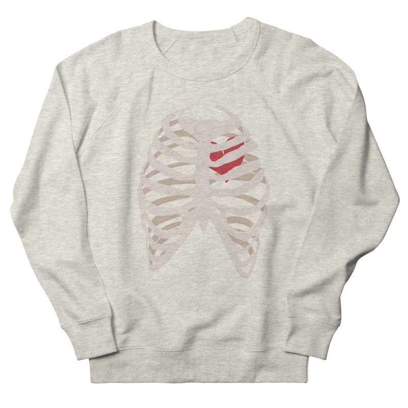 Caged heart Men's French Terry Sweatshirt by Hello Siyi