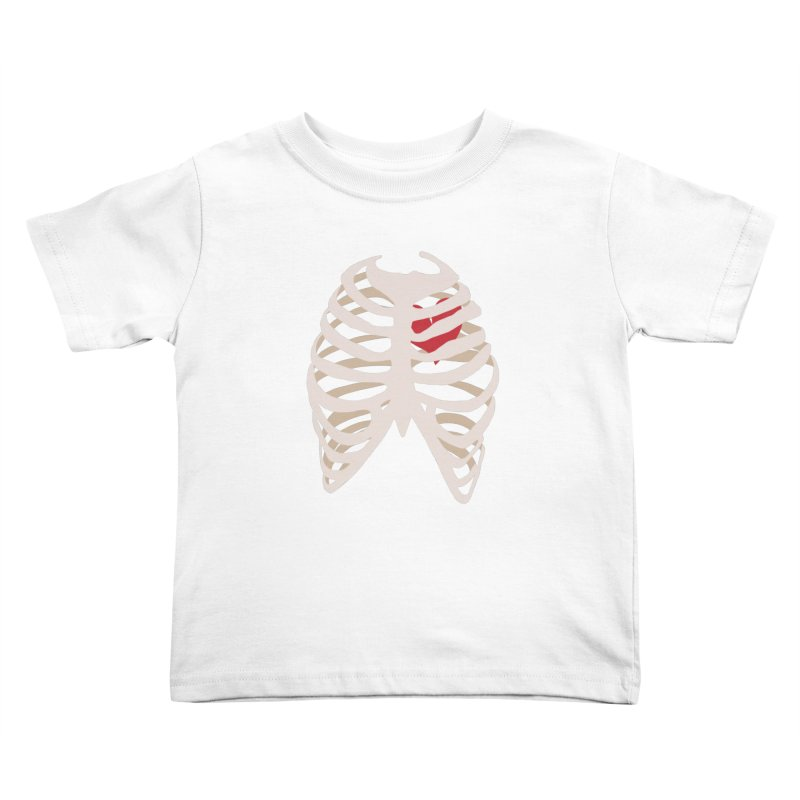 Caged heart Kids Toddler T-Shirt by Hello Siyi
