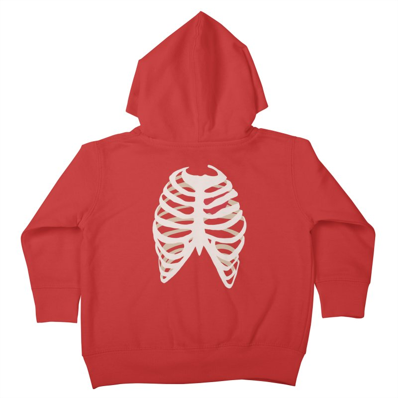 Caged heart Kids Toddler Zip-Up Hoody by Hello Siyi