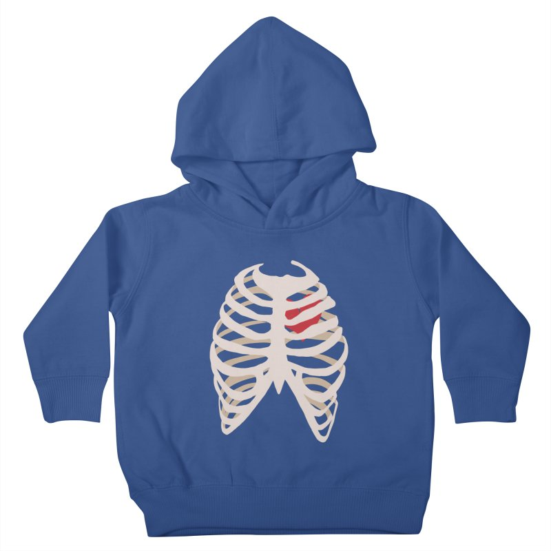 Caged heart Kids Toddler Pullover Hoody by Hello Siyi