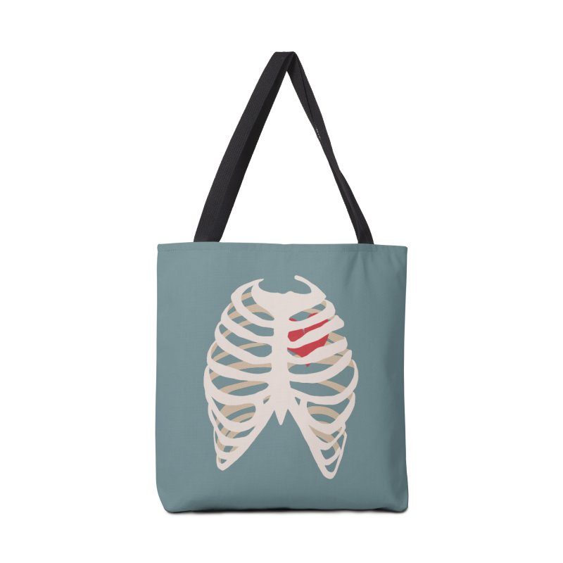 Caged heart Accessories Tote Bag Bag by Hello Siyi
