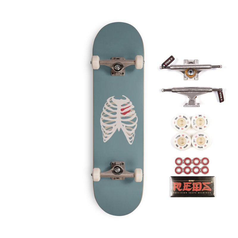 Caged heart Accessories Complete - Pro Skateboard by Hello Siyi