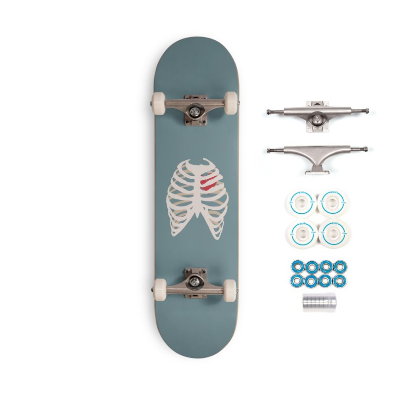 Caged heart Accessories Complete - Basic Skateboard by Hello Siyi