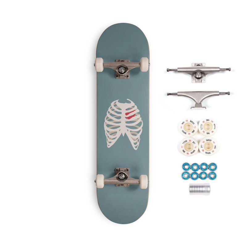Caged heart Accessories Complete - Premium Skateboard by Hello Siyi