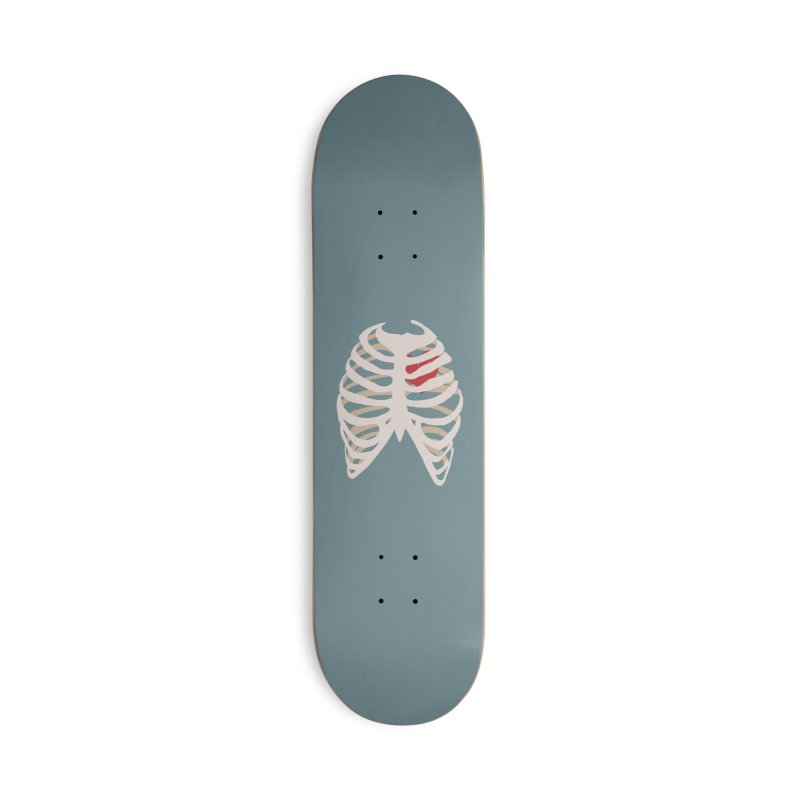 Caged heart Accessories Deck Only Skateboard by Hello Siyi