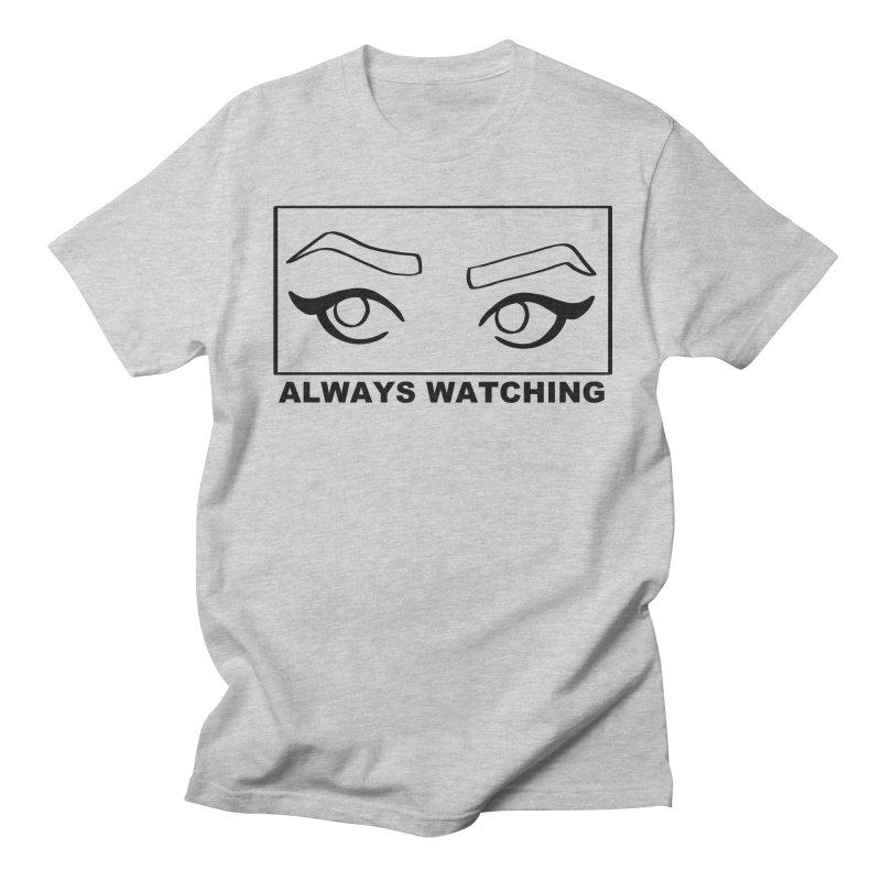 Always watching Men's Regular T-Shirt by Hello Siyi