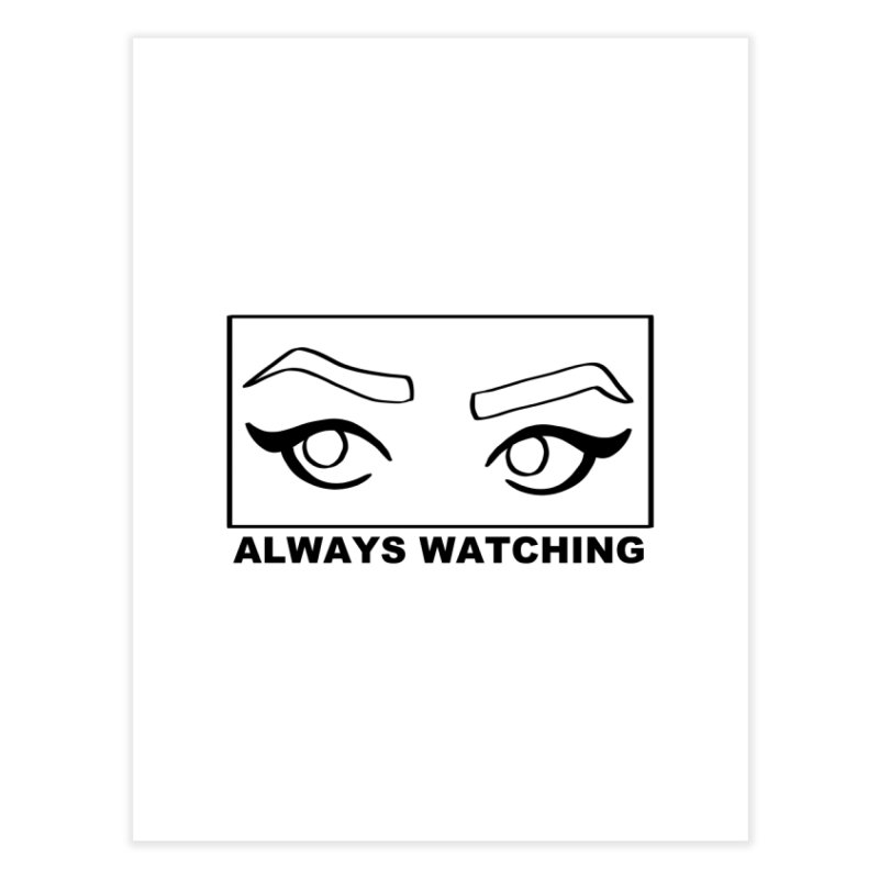 Always watching Home Fine Art Print by Hello Siyi