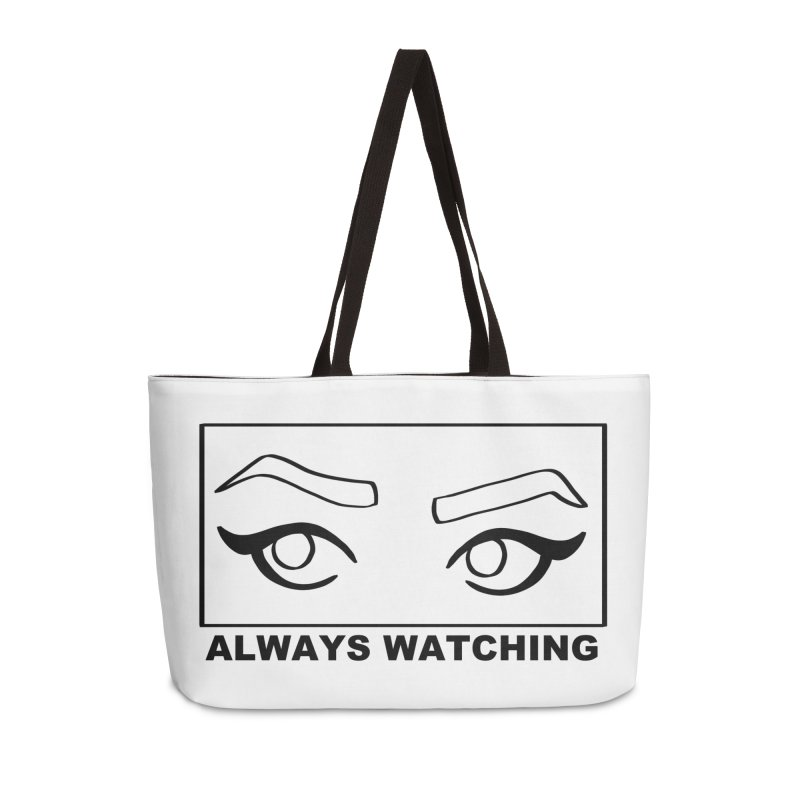 Always watching Accessories Weekender Bag Bag by Hello Siyi