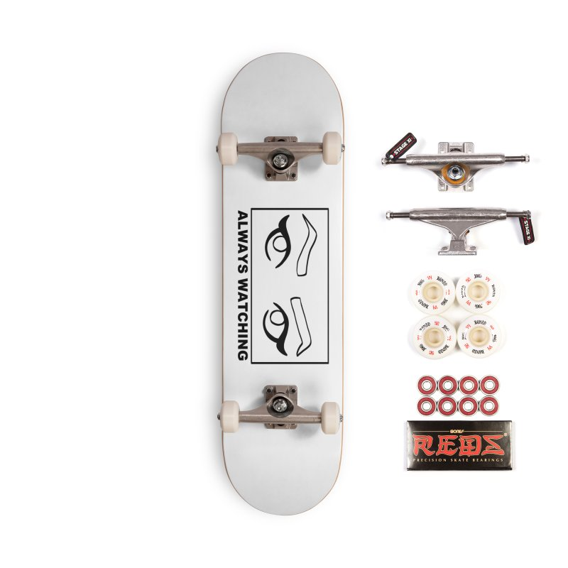 Always watching Accessories Complete - Pro Skateboard by Hello Siyi