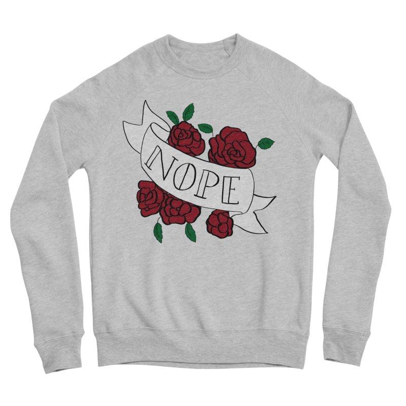 Nope Women's Sponge Fleece Sweatshirt by Hello Siyi