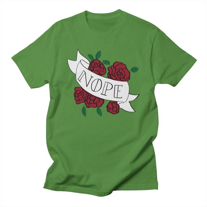 Nope Men's T-Shirt by Hello Siyi